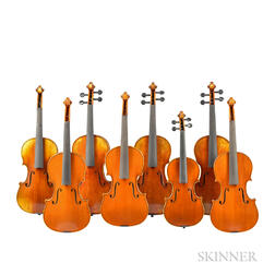 Eight Child's Violins