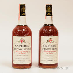 SS Pierce Private Stock, 2 quart bottles