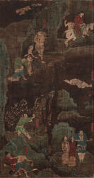 Panel Painting Depicting Six Torments