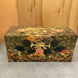 Modern Chinoiserie-decorated Trunk