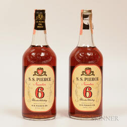 SS Pierce Number 6, 2 quart bottles
