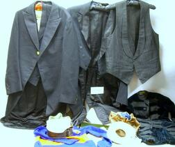 Lot of Men's Early 20th Century Formal Wear and Other Items