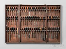 Collection of Holtzapffel Ornamental Turning Tools