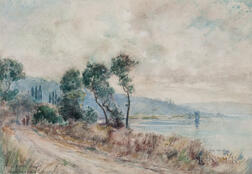 Frank Alfred Bicknell (American, 1866-1943)      Near St. Remo, Italy