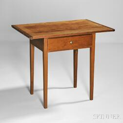 Shaker One-drawer Cherry Table