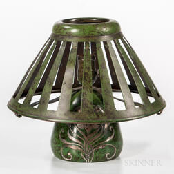 Heintz Art Metal Shop Boudoir Lamp