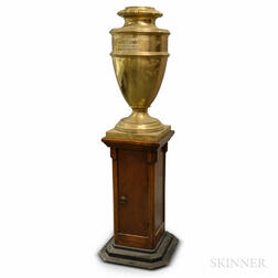 Large Brass Urn for The Merchant's National Bank of New Bedford