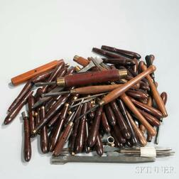 Collection of Holtzapffel and Other Manufacturer's Turning Tools