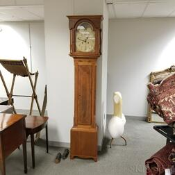 Inlaid Mahogany American Tall Clock