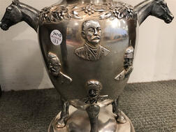 Jacobi & Jenkins Sterling Silver Harness Racing Trophy