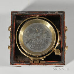 Peter L de Mory Gray Two-day Marine Chronometer