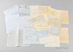 Archive of Documents from the Ship Ann Maria