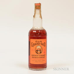 Old Grand Dad 4 Years Old 1953, 1 4/5 quart bottle