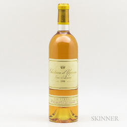 Chateau d'Yquem 1998, 1 bottle