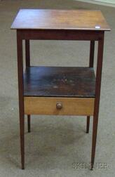 Federal Cherry Washstand.
