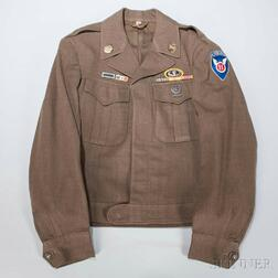Eisenhower Jacket Owned by Private John Gerard, 11th Airborne Division