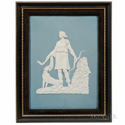 Wedgwood Bert Bentley Solid Light Jasper Plaque
