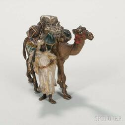Austrian Cold-painted Bronze Figure with Camel