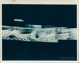 Apollo 16, Lunar Panoramas, Mixed Group, April 21-23, 1972.