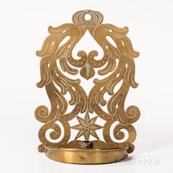 Brass Wall Sconce