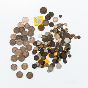 Group of Mostly Continental Coins