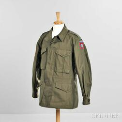 Model 1943 Field Jacket Identified to Private John Rigapoulos, 82nd Airborne Division