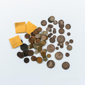 Small Group of Central and South American Coins
