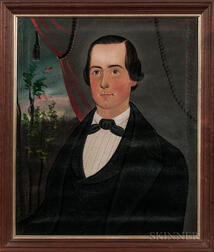 Sturtevant J. Hamblen (Maine/Massachusetts, act. 1837-1856)      Portrait of Mr. Hosmer