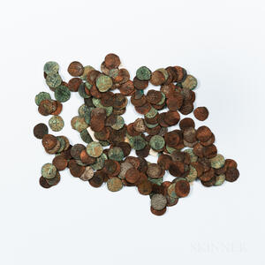 Approximately 209 Crusader States Hammered Coins.