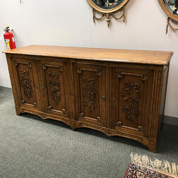 French Provincial Carved Fruitwood Dresser