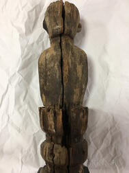 Indonesian Ironwood Post Figure