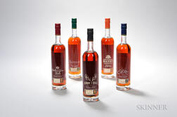 Buffalo Trace Antique Collection Horizontal, 2012 Release, 5 750ml bottles