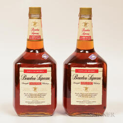Bourbon Supreme Straight Bourbon Whiskey, 2 1.75L bottles