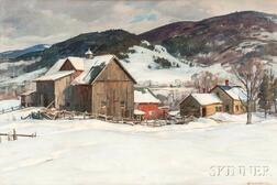 Aldro Thompson Hibbard (American, 1886-1972)      Valley Farm