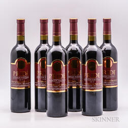 Pride Mountain Vineyards Cabernet Sauvignon Reserve 2012, 6 bottles