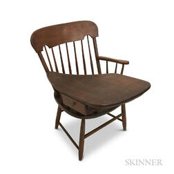 Country Cherry Writing Armchair