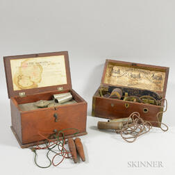 Two Cased Instruments