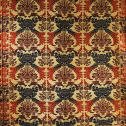 Three-color Woven Jacquard Coverlet