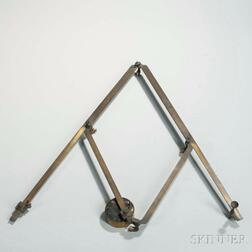 Heath & Wing Lacquered Brass Pantograph