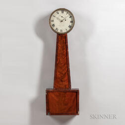 Sawin & Dyar Mahogany Shop Regulator
