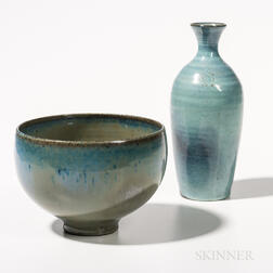 Edwin and Mary Scheier Vase and Bowl