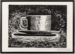 Aaron Fink (American, b. 1955)      Cup and Saucer