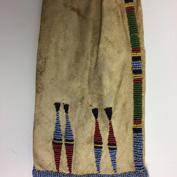 Plains Pictorial Beaded Hide Pipe Bag