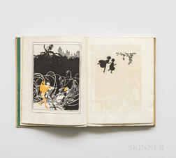 Rackham, Arthur, illus. (1867-1939) C.S. Evans's The Sleeping Beauty,   Signed Edition de Luxe, with Additional Drawing and Signature.