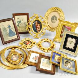Fifteen Frames and Framed Works