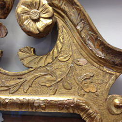 Pair of George II Gilt-gesso Mirrors