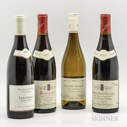 Mixed Burgundy, 4 bottles