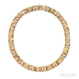 18kt Gold and Diamond Necklace, Henry Dunay