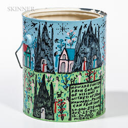 Howard Finster (American, 1916-2001)      Howard's Paint Can