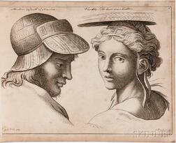 Ralph, Benjamin (fl. circa 1763-1770) The School of Raphael, or the Student's Guide to Expression in Historical Paintings.
